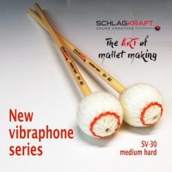 SV-30 is labelled as a medium-hard mallet, and yes, it is an all-rounder, but for those who prefer a stronger, clearer  sound.